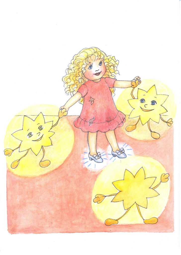 Kapitola_10_B Panenka Květuška tancuje s hvězdičkami